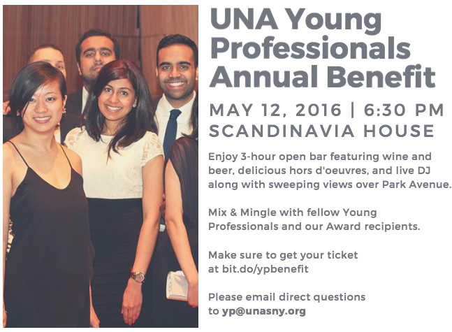 UNA Young Professionals Annual benefit - The Culture News