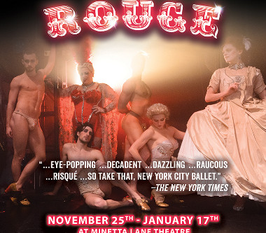 """COMPANY XIV TO PRESENT OFF-BROADWAY REVIVAL OF HOLIDAY SHOW """"NUTCRACKER ROUGE""""  AT MINETTA"""