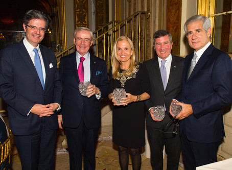 AMERICAN HOSPITAL OF PARIS FOUNDATION AWARD GALA HONORED FOUR FORMER U.S. AMBASSADORS TO FRANCE AT T
