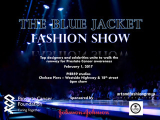 The Inaugural Blue Jacket Fashion Show and Dinner benefiting the Prostate Cancer Foundation