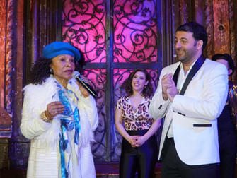 David Serero Awards Legendary Singer from Le Chic: Norma Jean Wright