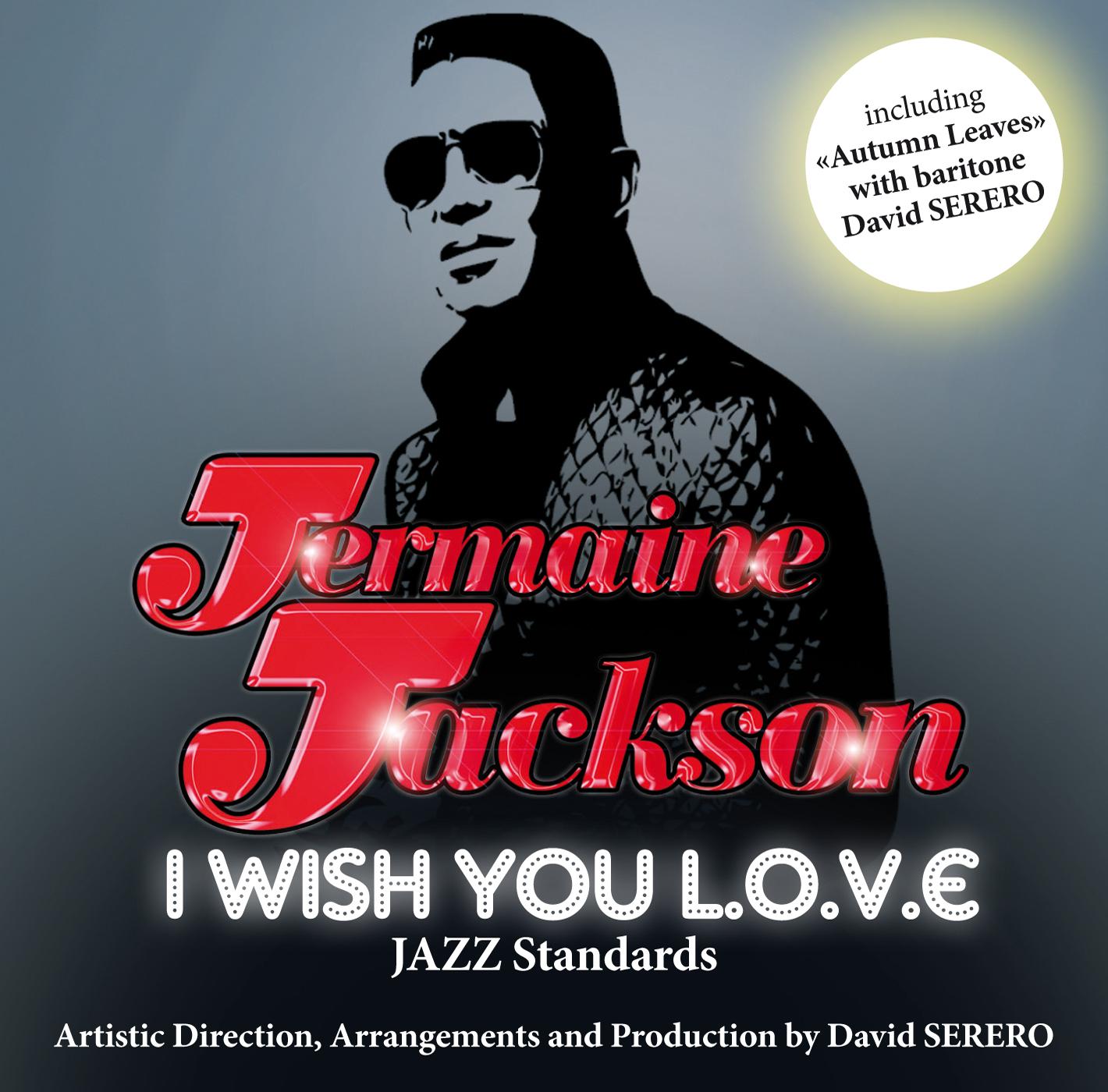 I wish you love Jermaine Jackson CD Cover