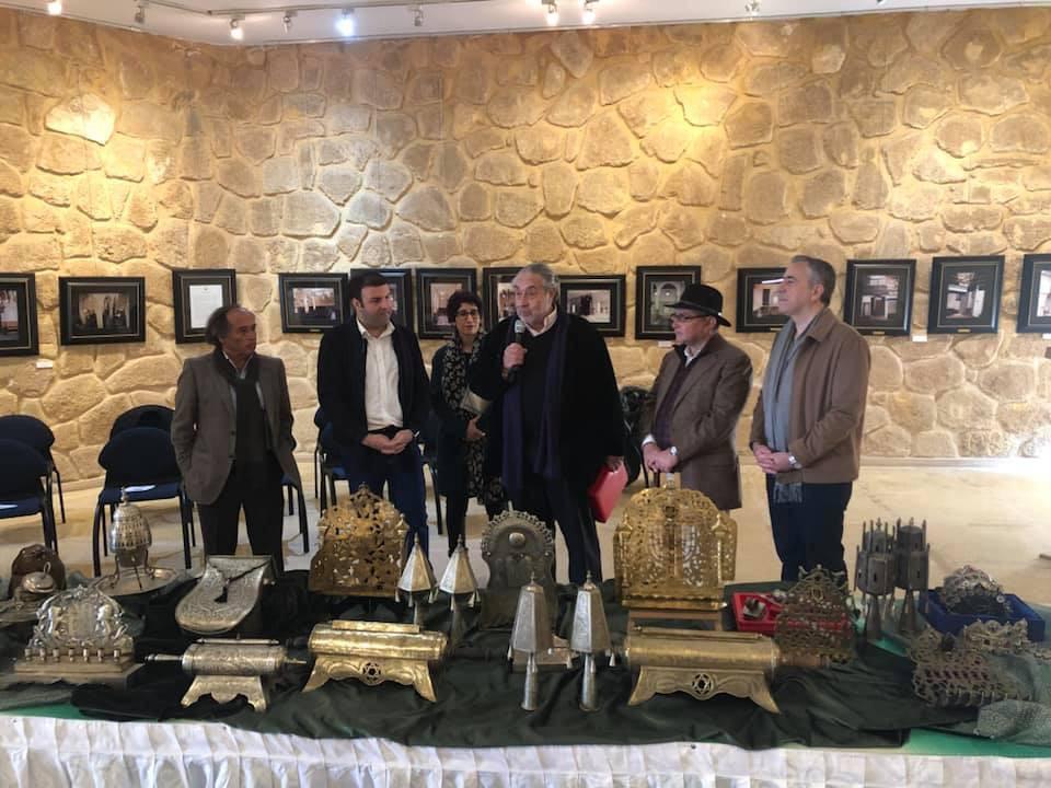 Le Musée du Judaisme Marocain à Casablanca reçoit laplus grande donation d'art Judaica Marocain offerte par lechanteur d'opéra David Serero