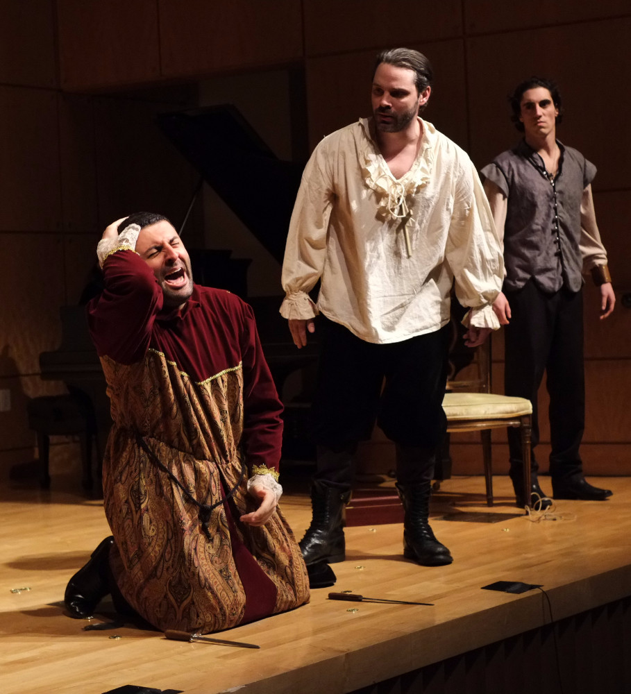 David Serero as Shylock from The Merchant of Venice - The Culture News