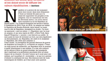 David Serero dans le magazine Napoleon 1er