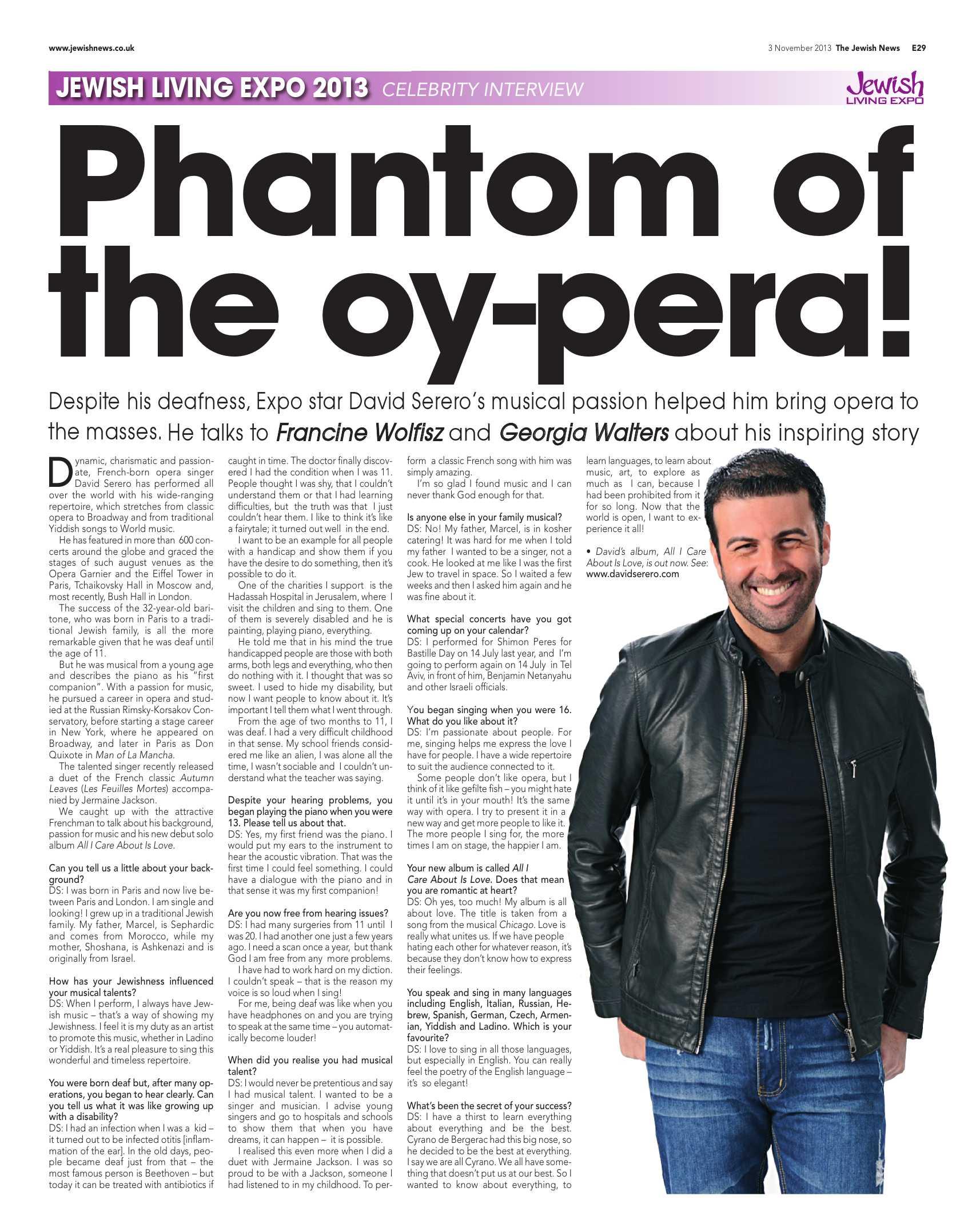 Celebrity Magazine, UK