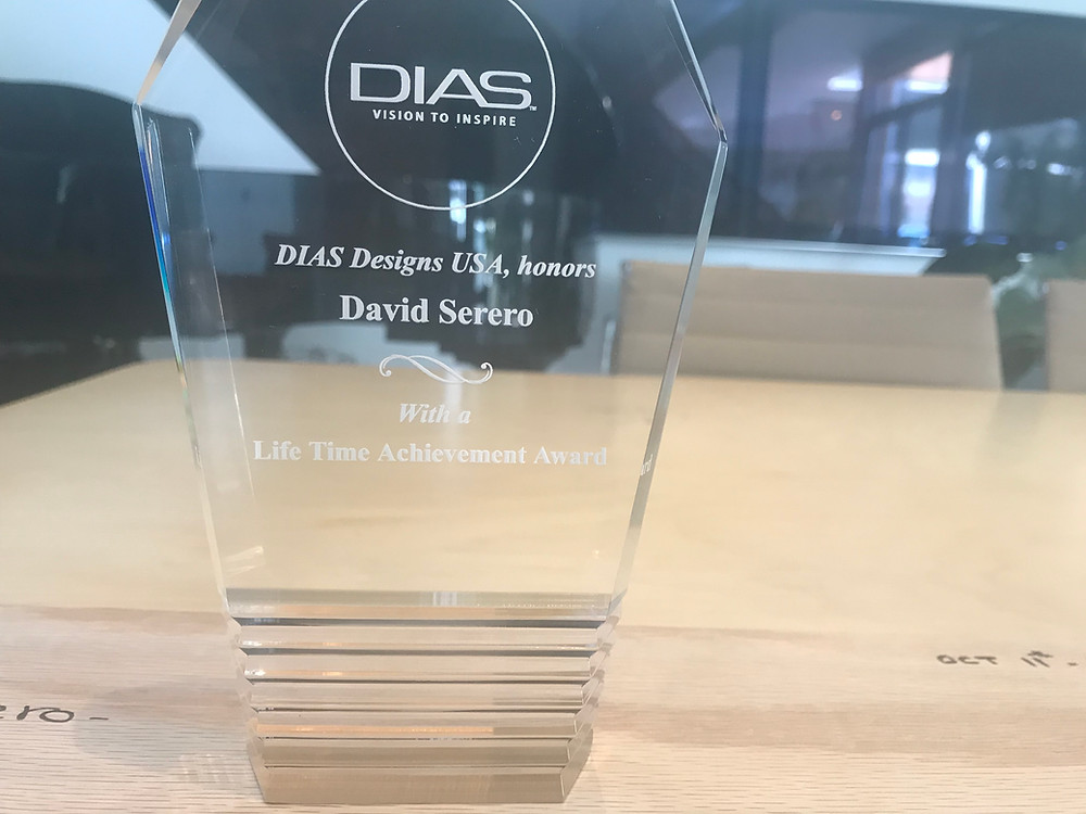 Lifetime Achievement Award by DIAS Entrepreneur