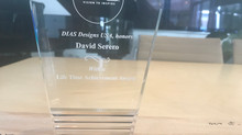 David Serero receives Lifetime Achievement Award by DIAS Entrepreneur