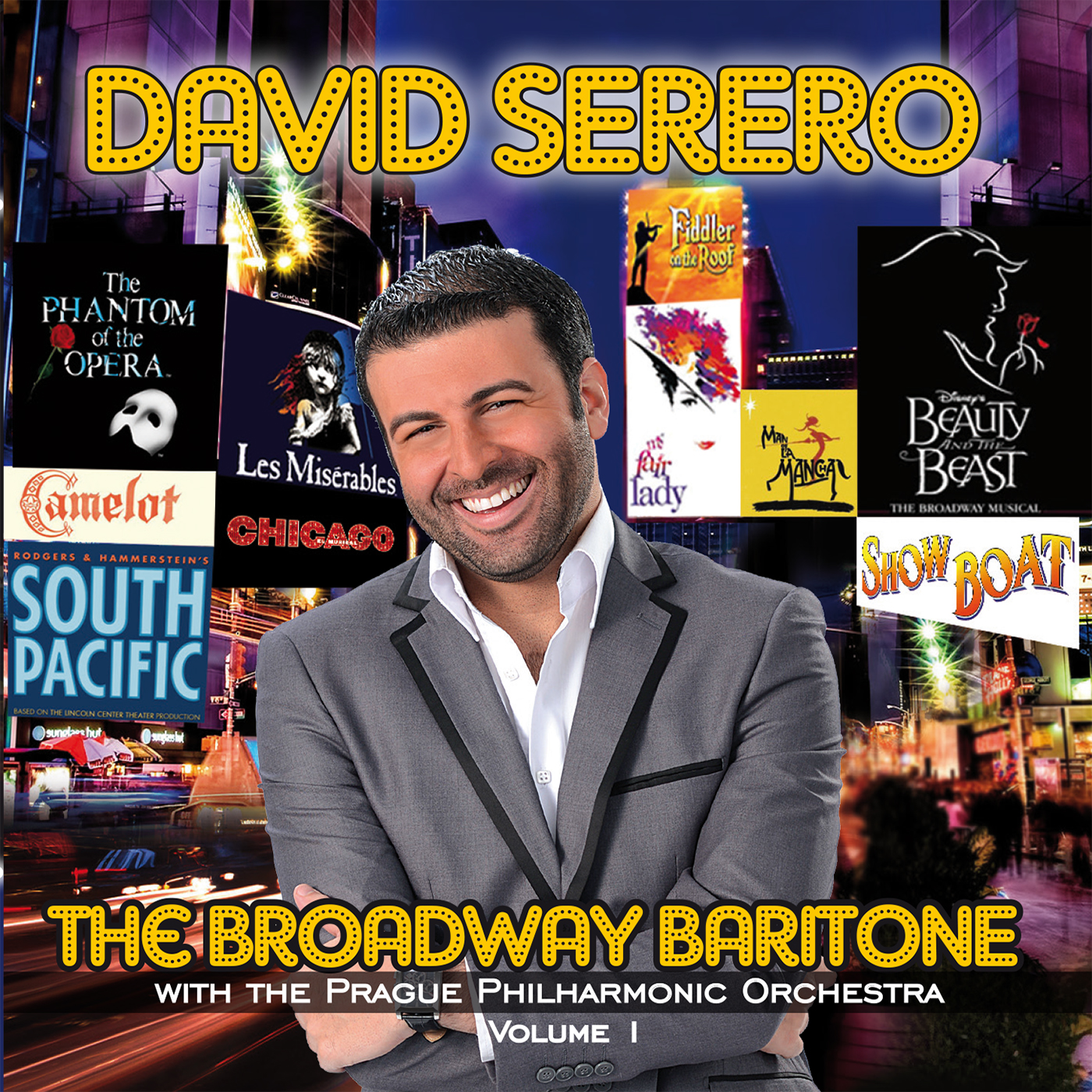 David Serero The Broadway Baritone Cover 1400