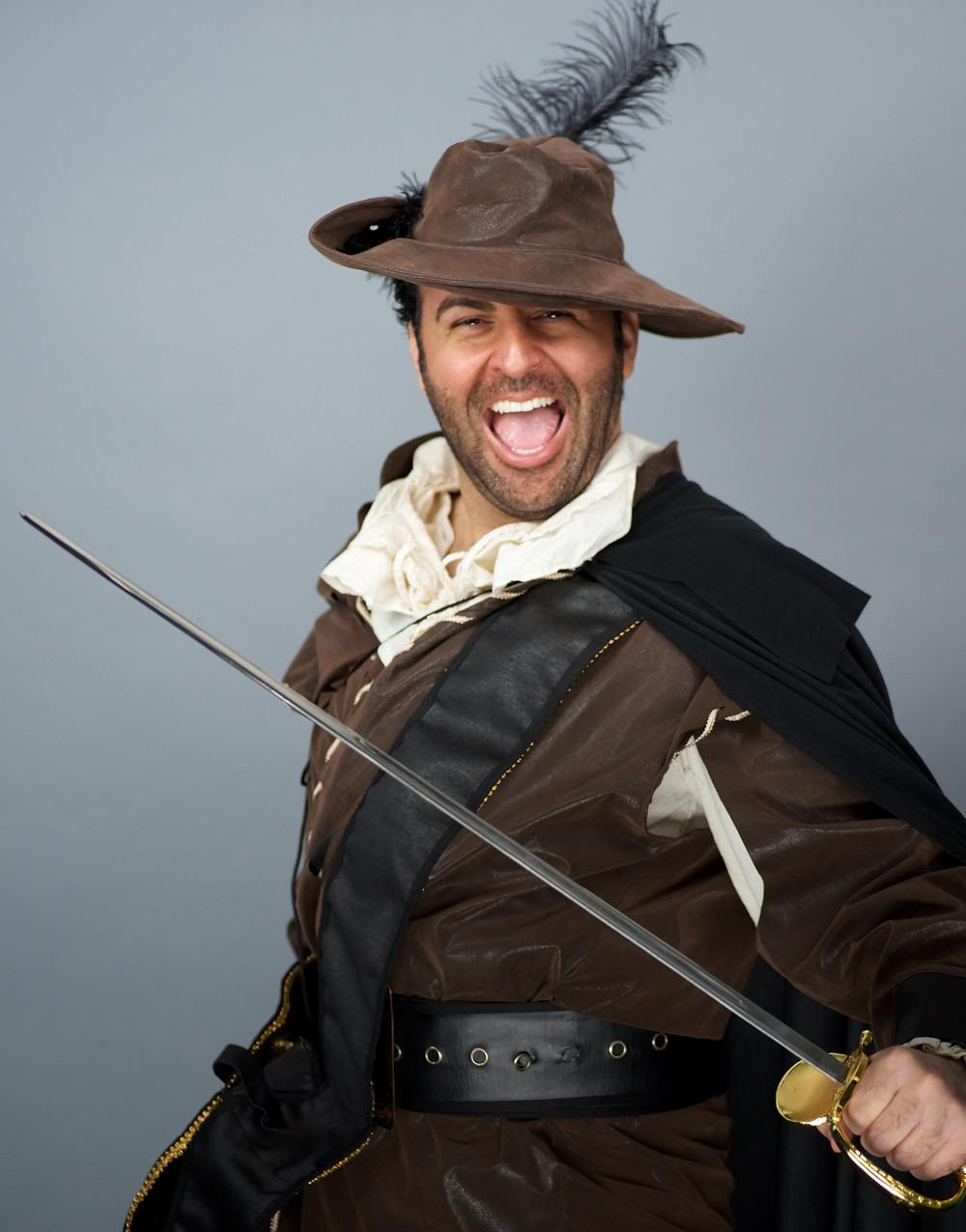 David Serero as Cyrano de Bergerac