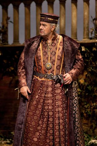 James Levine Conducts Verdi's Tragic Masterpiece Simon Boccanegra, with Plácido Domingo Starring in