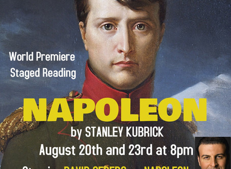 NAPOLEON by Stanley Kubrick (The Greatest Movie Never Made) to be presented for the first time adapt