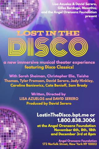 LISA AZUELOS et DAVID SERERO présentent sur Broadway leur spectacle immersif «LOST IN THE DISCO» a
