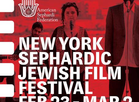 All-Star Sephardi Musical to Open 23rd New York Sephardic Jewish Film Festival: 23 February to 2 Mar