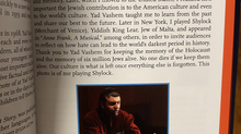 David Serero featured in Yad Vashem's new book