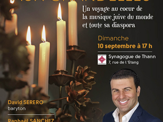 Le baryton DAVID SERERO en concert à Thann pour la Journée Européenne de la Culture Juive