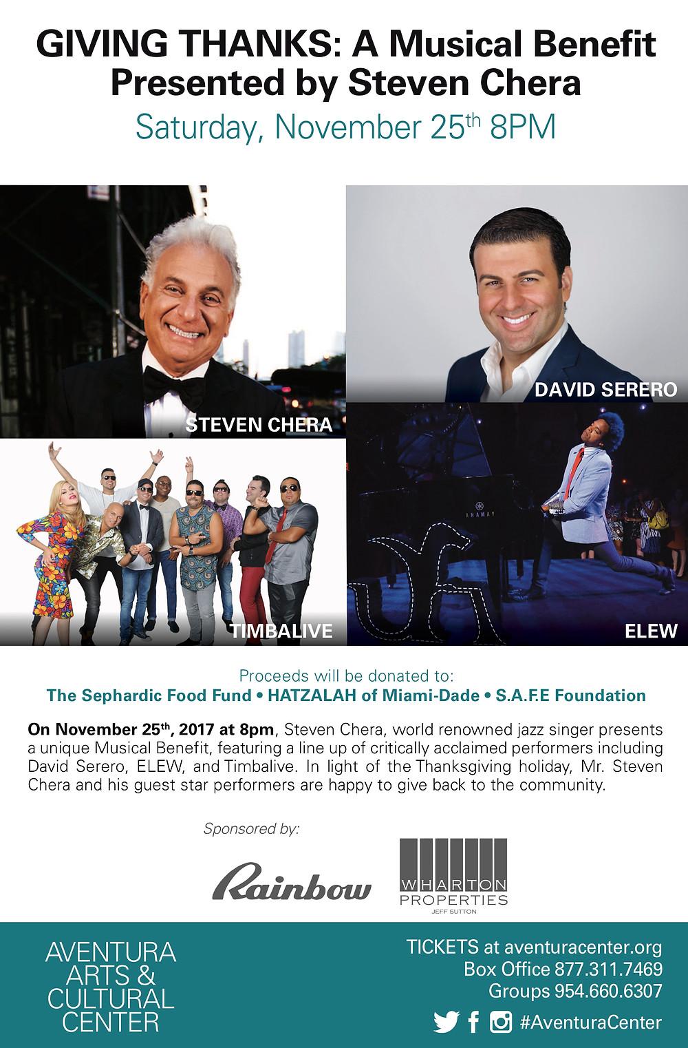 Giving Thanks - Steven Chera - Aventura, Florida