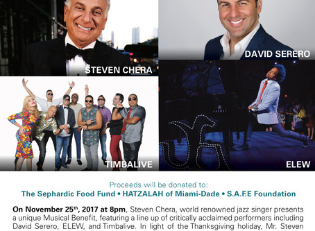 GIVING THANKS a Musical Benefit presented by Steven Chera