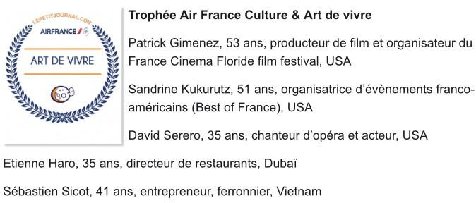 Air France Culture Art de Vivre David Serero