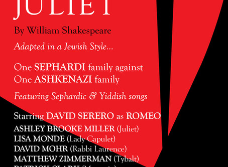 ROMEO and JULIET coming Off-Broadway in a Jewish adaptation