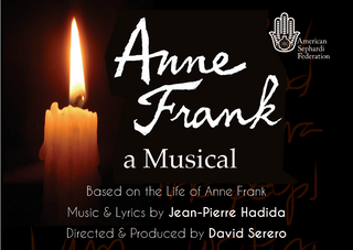 "The Off-Broadway Cast of ""Anne Frank, a Musical"" is announced!"