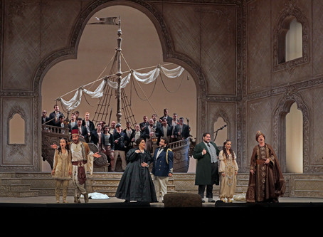 Metropolitan Opera: Music Director Emeritus James Levine Conducts a Revival ofL'Italiana in Algeri