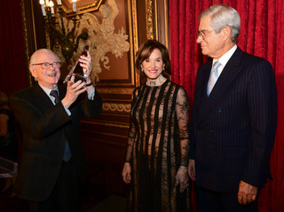 The American Hospital of Paris Foundation held a festive gala at the Metropolitan Club