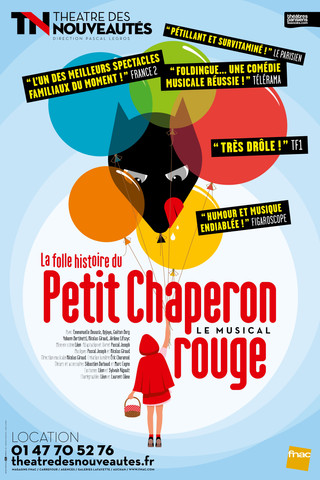 THE MAD STORY OF LITTLE RED RIDING HOOD in Paris theater