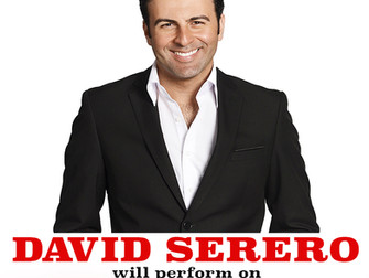 DAVID SERERO will perform on TIMES SQUARE for BEST OF FRANCE
