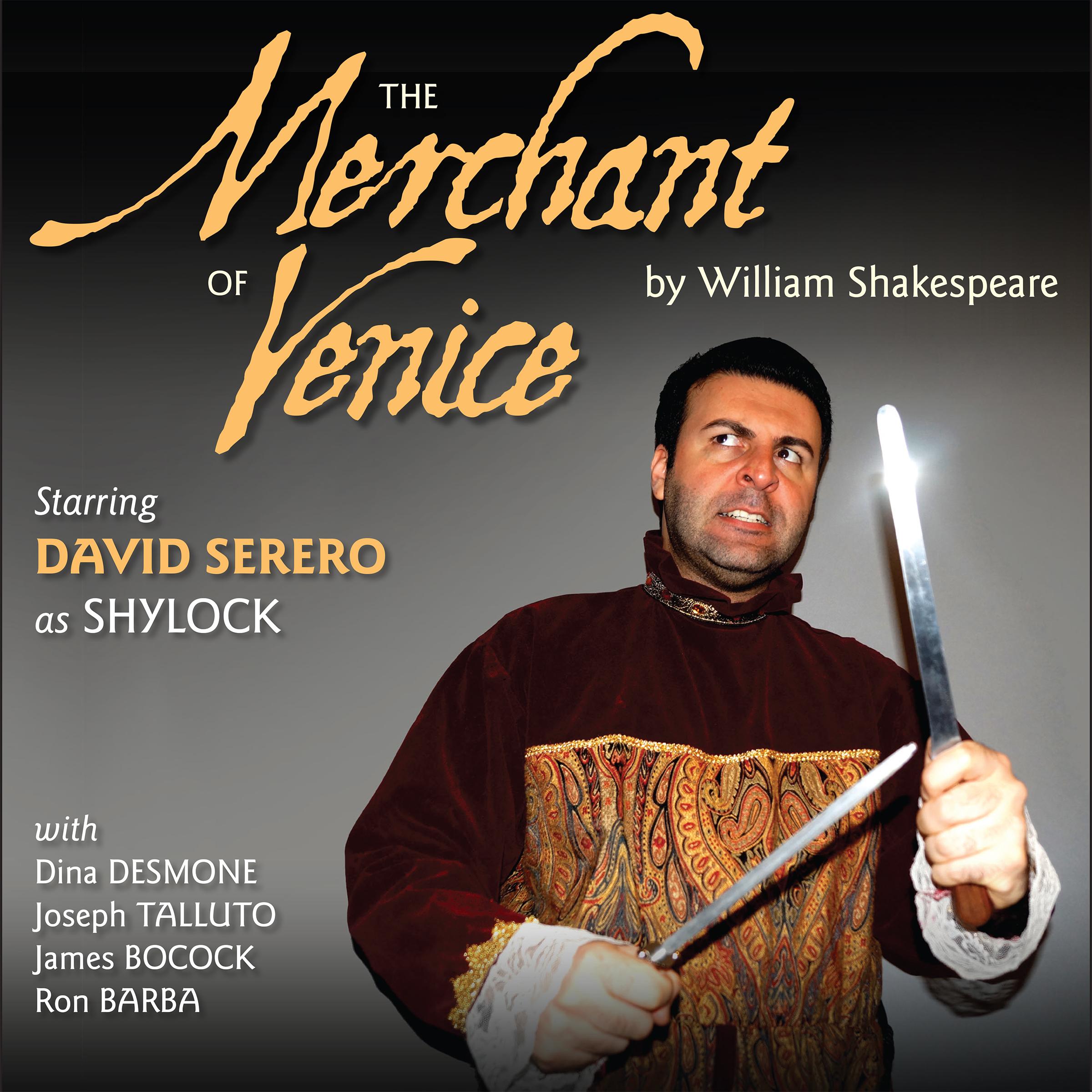 The Merchant of Venice starring David Serero as Shylock audiobook