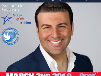 David Serero returns to perform at the Russian Culture House of London for the Stars of the Albion F