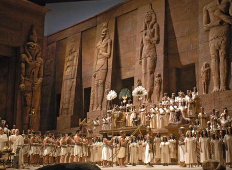 The Met's Grand Production of Verdi's Aida Returns
