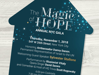 David Serero to perform for actor Sylvester Stallone in benefit of TiKVA's Gala in New York on N
