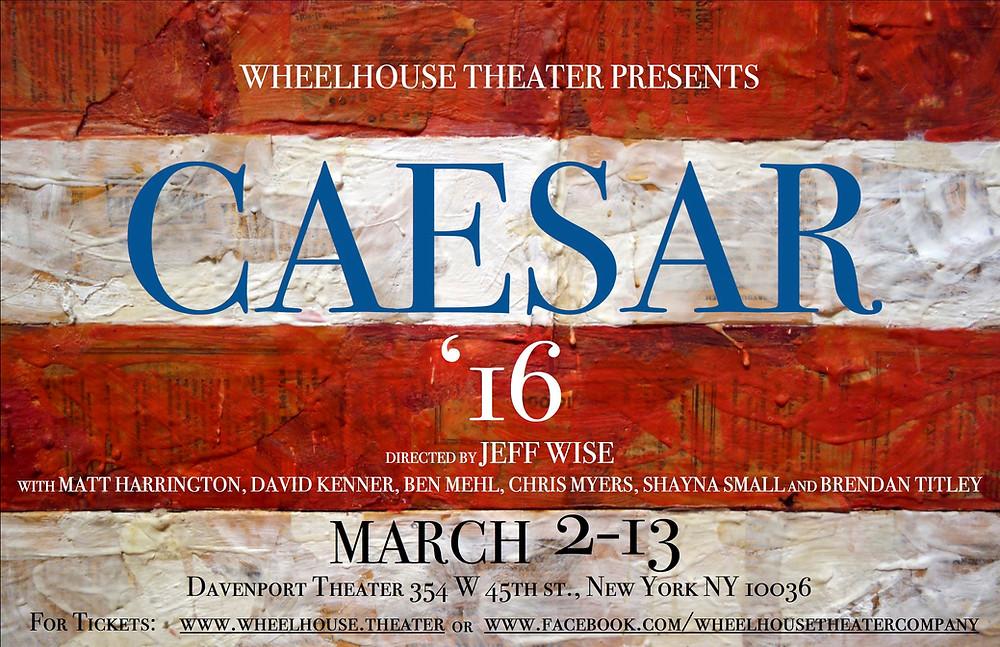 Julius Caesar - Davenport Theater - The Culture News