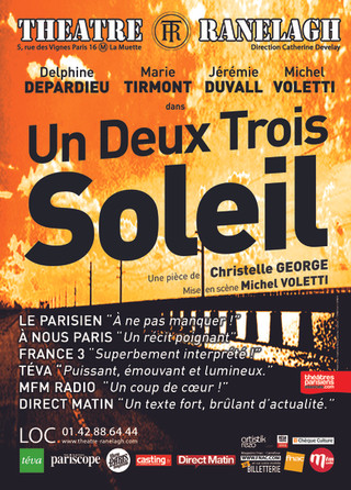 UN, DEUX, TROIS SOLEIL (ONE, TWO, THREE SUN) is a big hit at Paris theater