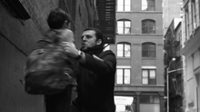 David Serero in the film THE KINGDOM OF THE ALLEY directed by Stephen Skeel in New York.
