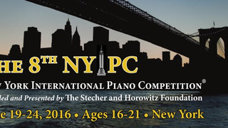 THE STECHER AND HOROWITZ FOUNDATION PRESENTS THE 18th NEW YORK INTERNATIONAL PIANO COMPETITION on JU