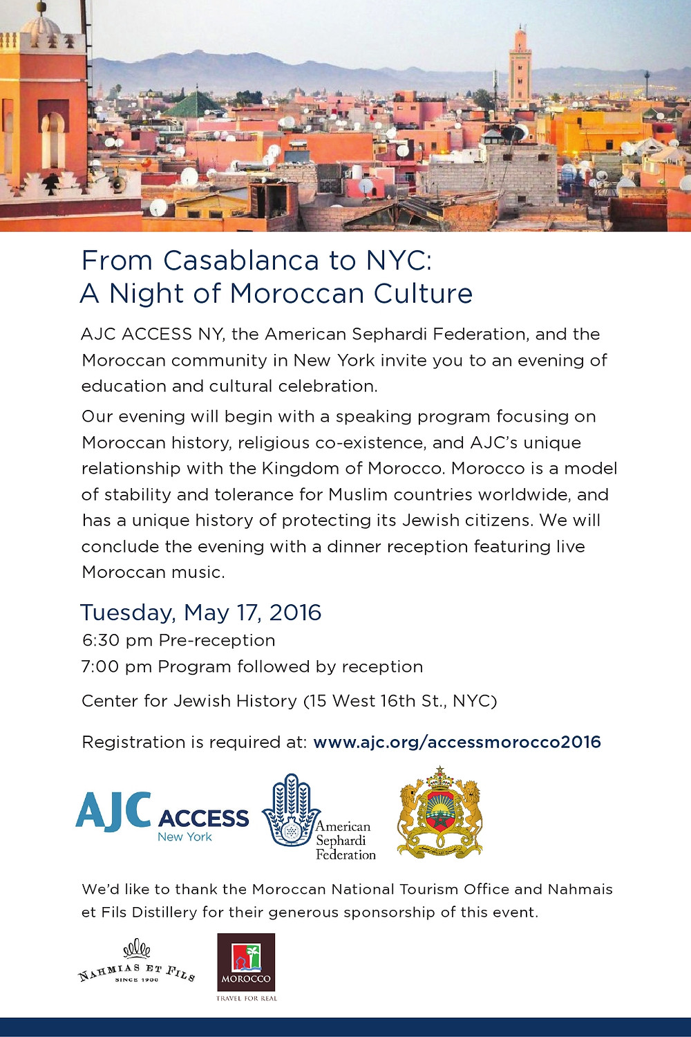 From Casablanca to NYC: A Night of Moroccan Culture - The Culture News