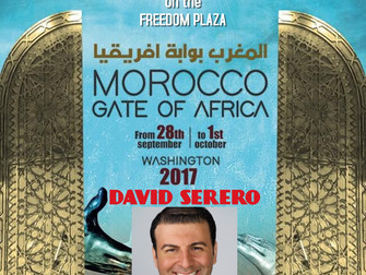 David Serero to perform at the Festival of Morocco in Washington DC on October 1st on the Freedom Pl