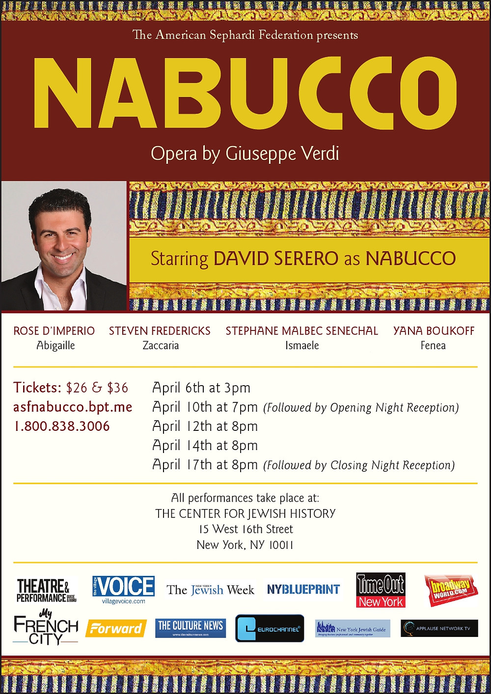 David Serero Nabucco