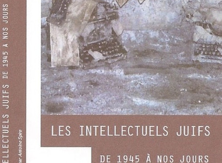 Sandrine Szwarc delivers a masterpiece regarding her new book on Jewish Intellectuals of France from