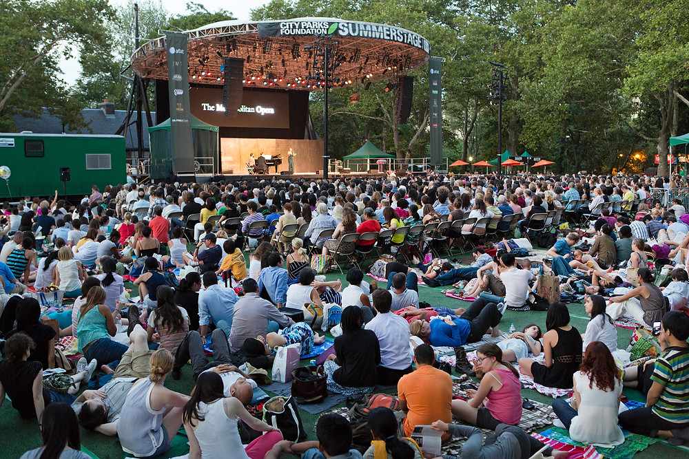 SummerStage Metropolitan Opera - The Culture News