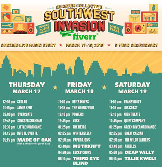 5th Annual Southwest Invasion Concert Series and Lifestyle Village