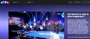 DAVID SERERO dans VENDREDI TOUT EST PERMIS avec ARTHUR sur TF1  Special New York