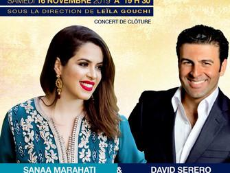David Serero with Sanaa Marahati perform at the Festival Sefarad of Montreal