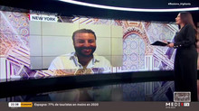 David Serero invité sur Medi1TV au Maroc (2021)