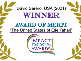 Documentary about Elie Tahari Wins Award of Merit in Impact DOCS Awards Competition