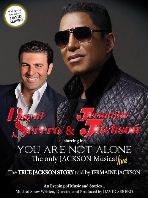 DVD: YOU ARE NOT ALONE, The Jackson Musical - LIVE