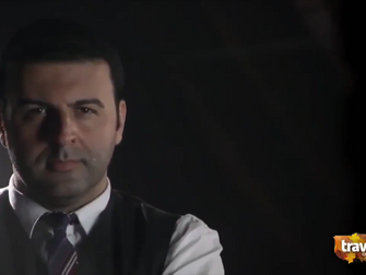 David Serero in a new episode of TV series MYSTERIES AT THE MUSEUM on Travel Channel as JW Jones