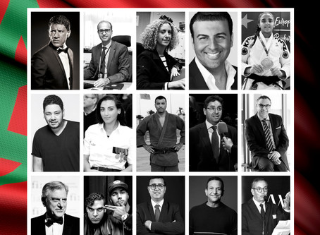 Moroccan opera singer and actor David Serero honored by Moroccan national airline Royal Air Maroc am
